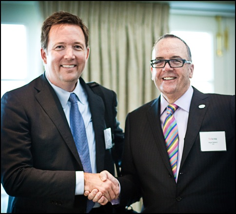 White House CIO Steven VanRoekel and Nigel Ballard